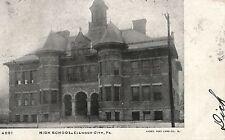 High School in Ellwood City PA 1906