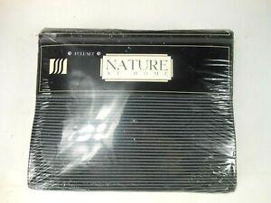 Nature At Home Full Size Sheets Black Gray No Iron NOS