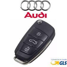 Guscio Chiave Cover Telecomando 3 Tasti per auto Audi A3 **** italia