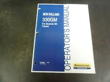 New Holland 330gm Finish Mowers For Boomer 8n Operators Manual 84198891