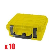 "10x 10"" Marine Weatherproof Dry Box Case For iPhone Camera Gun Pelican 1200 Foam"