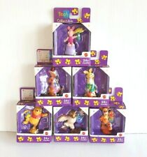 Lot of 6 Disney Winnie The Pooh PVC Figures Cake Toppers Collectible Mattel