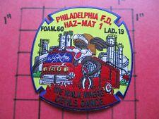 ORIGINAL PATCH PHILADELPHIA FIRE DEPARTMENT LADDER 12 HAZ MAT
