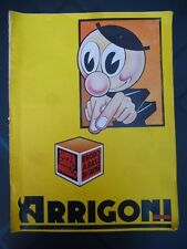 Pubblicità ARRIGONI TRIESTE - Super Dado Arrigo Brodo di carne  cm. 38,50x28