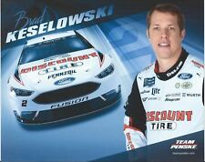 "2018 BRAD KESELOWSKI ""DISCOUNT TIRE"" #2 NASCAR MONSTER ENERGY CUP POSTCARD"