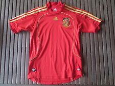 Maillot ESPAGNE ESPANA camiseta ADIDAS fottball shirt enfant kid 152 12 ans