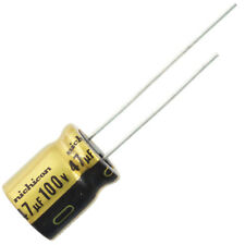 Nichicon UFW Audio Grade Electrolytic Capacitor, 47uF @ 100V, 20% Tolerance