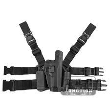 Level 2 Serpa Right Hand Drop Leg Thigh Pistol Holster for Beretta 92 96 M9 M92