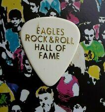 EAGLES Don Felder Rock & Roll Hall Of Fame white guitar pick