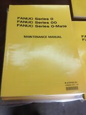 FANUC MAINTENANCE FANUC SERIES 0/00 O MATE, OMATE TC