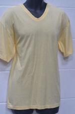 Unifarbene Herren-T-Shirts aus Baumwolle in Größe M