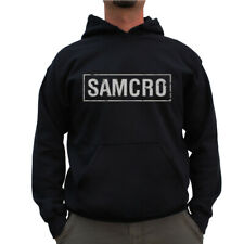 Licensed Sons Of Anarchy SAMCRO Distressed BIG & TALL 3XL, 4XL, 5XL Hoodie
