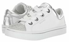 Skechers Silver Hi-Lites Space Dancer Shoes Women Size 8