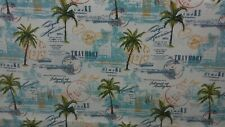 Getaway Opal Indoor / Outdoor 100% Polyester Fabric