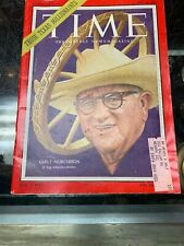 Vintage Time Magazine May 24, 1954 Clint Murchinson