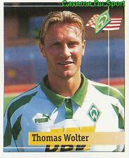 030 THOMAS WOLTER GERMANY WERDER BREMEN STICKER FUSSBALL 1995 PANINI