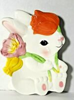 Vintage Chang Sonic, Easter, Bunny Rabbit, Tray