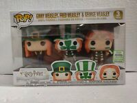 Funko Pop Harry Potter Ginny, Fred and George Weasley 3 Pack 2019 ECCC GRAIL