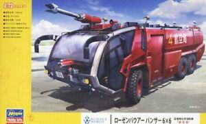 Hasegawa SP468 1/72 Scale Model Kit Rosenbauer Panther 6x6 Airport Crash Tender