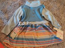 Adorable 1970'sHealth-Tex Vintage Girl Outfit-New With Tags! Made In Usa Size 2T