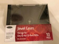 Jewel Cases Storage For Cd 10