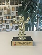 Last Place Cry Baby Fantasy Basketball Fbl Loser Trophy With Color Logo M*F732