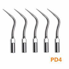 5x Dental Perio Scaling Tip Insert Tip PD4 for DTE SATELEC NSK Ultrasonic Scaler