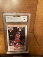 1990 Fleer Michael Jordan Graded 9 Mint