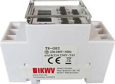digitale Zeitschaltuhr für Schalttafel-Einbau 230V/16A Hutschiene TS-GE2