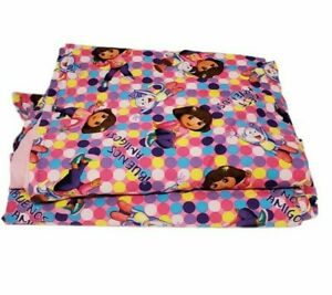 DORA the EXPORER Curtains Handmade  Bright And Colorful  38 X 54