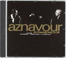 Cd-lp Charles Aznavour/..20 chansons D'or../cd Album LP