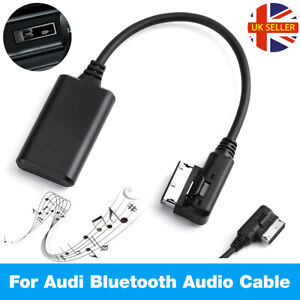 FOR AUX Audio Cable Adapter For Audi VW AMI MDI MMI Bluetooth Music Interface