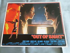 OUT OF SIGHT - GEORGE CLOONEY - JENNIFER LOPEZ  - LOBBY CARD USA -11x14 - #4