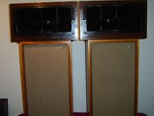 Tannoy Monitor Red 12 inch in Chatsworth cabinets with matching horn units