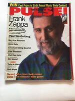 Frank Zappa Covers Pulse Magazine August 1993 Dick Dale Paul Westerberg