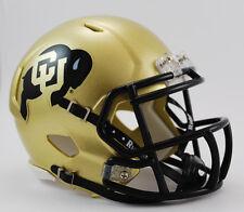Colorado Buffaloes NCAA Revolution Speed Mini Football Helmet