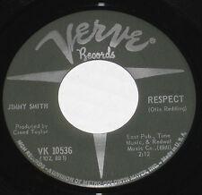 """Jimmy Smith 7"""" 45 HEAR JAZZ SOUL FUNK Respect VERVE Funky Broadway NORTHERN SOUL"""