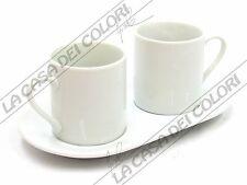 PORCELLANA - TETE A TETE CAFFE NOUVELLE - D5xH5,5+17x9,5cm