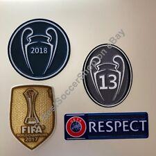 2018-19 UEFA Champions League patch kit - Real Madrid FC -NEW 2019 season!