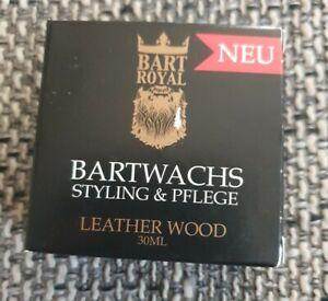 Bart Royal Bartwachs / Styling & Pflege / Leather Wood / 30ml