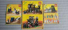 LEGO Burg/Ritter Konvolut - 6055 + 6061 + 6085 - Mit BA`s