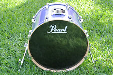 "PEARL VISION 22"" BLUE RHYTHM SST BIRCH PLY BASS DRUM for YOUR DRUM SET! #B178"