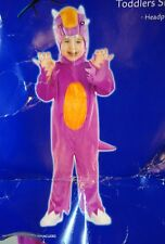 IC6037TXS Morris Costumes Toldders Tentacles Lined Zippered Jumpsuit 6-12 M