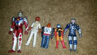 Random vintage lot super Samurai squad mask star wars transformers