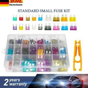 220tlg Autosicherungen KFZ Auto Sicherungen Flachsicherung 19mm+11mm 2-35A Set