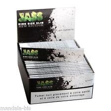 JASS SLIM  Lot de 50 Carnets de 33 Feuilles à rouler (King Size Rolling Paper)