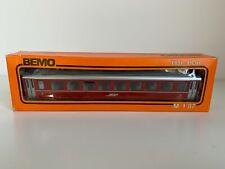 More details for bemo 3253 h0e hom rhb red second class passenger car rn2316