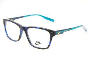 BRAND NEW NIKE 7230KD 418 BLUE FLEXON EYEGLASSES AUTHENTIC RX NIKE   52-16