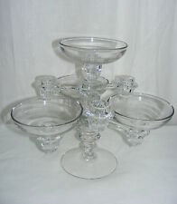 "Vintage Cambrideg Arms 3.5 Candlestick 4 Candle Arm 5"" Peg Nappy 1940s"