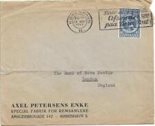 Denmark 1945 Slogan Typed Cover From Copenhagen To England My Ref 528